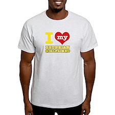 I love my Bruneian Girlfriend T-Shirt