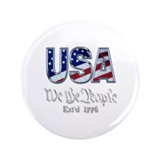 """USA 3.5"""" Button"""
