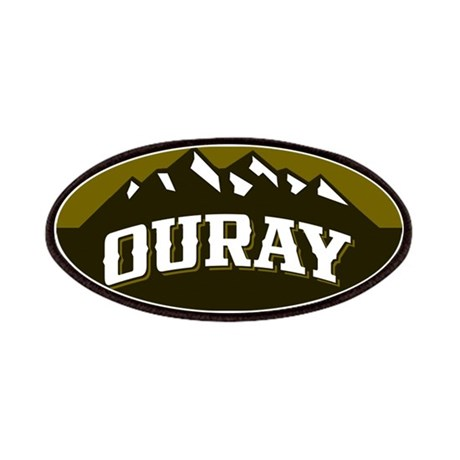 ouray city logo olive patches by highaltitudes