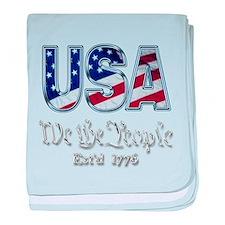 USA baby blanket