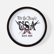 USA 2 Wall Clock