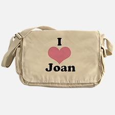 I heart Joan 1 Messenger Bag