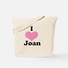 I heart Joan 1 Tote Bag