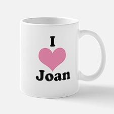 I heart Joan 1 Mug