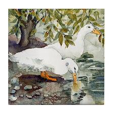 Duckie Love Tile Coaster