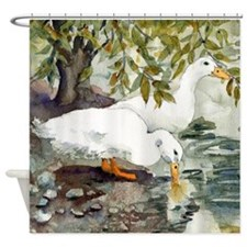 Duckie Love Shower Curtain