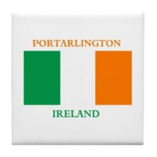Portarlington Ireland Tile Coaster