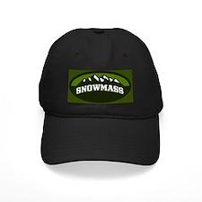 Snowmass Olive Baseball Hat