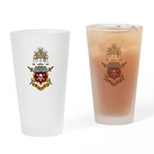 Logo Crest Drinking Glass