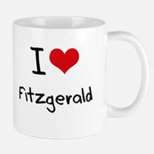 I Love Fitzgerald Mug
