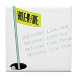 Hole in one golf Drink Coasters