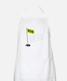 Golf Hole In One Apron