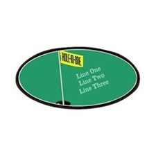 Golf Hole in One Patches
