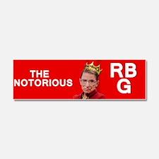 NotoriousRBG Car Magnet 10 x 3