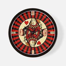 queen-hearts_cl.png Wall Clock