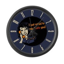 called-to-say-i-hate-you_cl.png Large Wall Clock