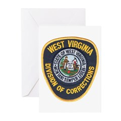 West Virginia Prison Greeting Cards (Pk of 10)