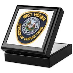 West Virginia Prison Keepsake Box