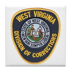 West Virginia Prison Tile Coaster