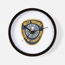 West Virginia Prison Wall Clock