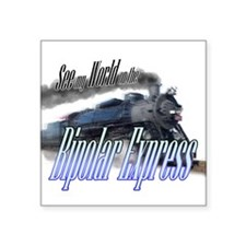 Biplar Express Sticker