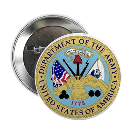 "Army Emblem 2.25"" Button (100 pack)"