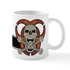 Celtic Skull, Crossbones, & Biohazard Mug (12o