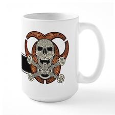 Celtic Skull, Crossbones, & Biohazard Mug (15o