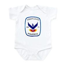USS Atlanta SSN 712 Infant Bodysuit