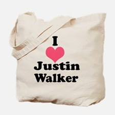 I Heart Justin Walker 1 Tote Bag