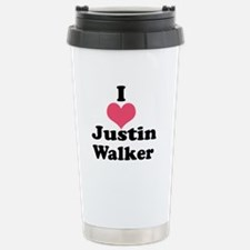 I Heart Justin Walker 1 Travel Mug