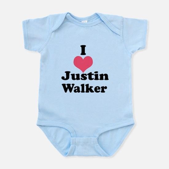 I Heart Justin Walker 1 Body Suit