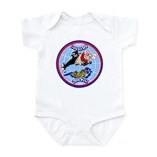 USS Buffalo SSN 715 Infant Bodysuit