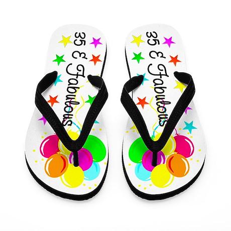 SPENDID 35TH Flip Flops
