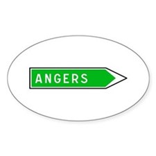 Roadmarker Angers - France Oval Decal