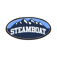 Steamboat Blue Patches