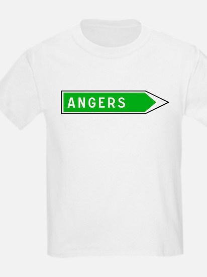 Roadmarker Angers - France Kids T-Shirt