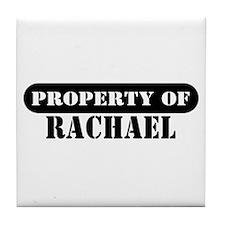 Property of Rachael Tile Coaster