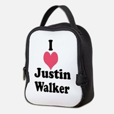I Heart Justin Walker 1 Neoprene Lunch Bag