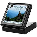 Bigfoot Great Smoky Mountains Keepsake Box