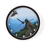 Bigfoot Great Smoky Mountains Wall Clock