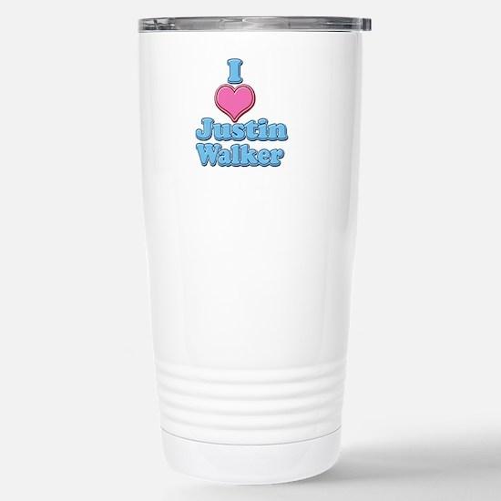 I Heart Justin Walker 2 Travel Mug