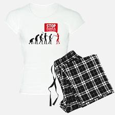 Evolution is following me Pajamas