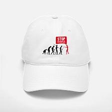 Evolution is following me Baseball Baseball Baseball Cap