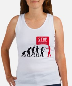 Evolution is following me Tank Top