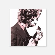 Cat Music Style Sticker