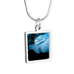 Silver Square Necklace - San Francisco Dreams