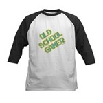 Old School Gamer Kids Baseball Jersey