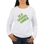 Old School Gamer Women's Long Sleeve T-Shirt