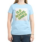 Old School Gamer Women's Pink T-Shirt